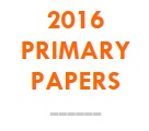 2016 Primary Papers